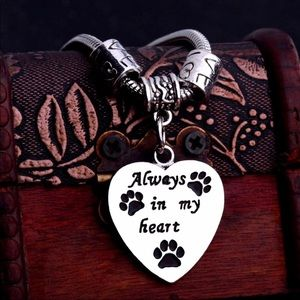 Brand New Pet Remembrance Pendant Bracelet